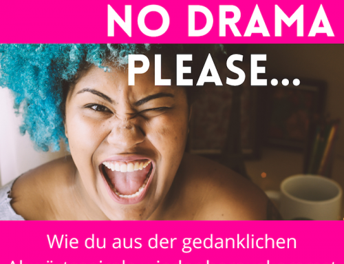 """NO DRAMA PLEASE…"""